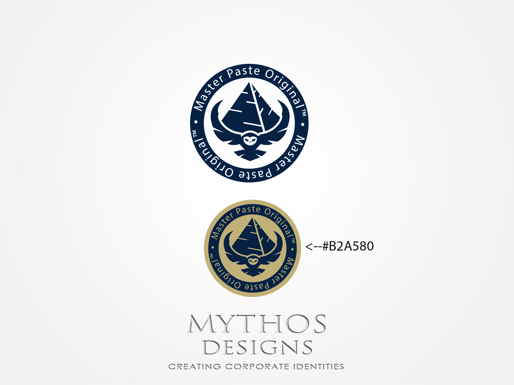 Logo Design by Mythos Designs - Entry No. 70 in the Logo Design Contest Unique Logo Design Wanted for Master Paste Original™.