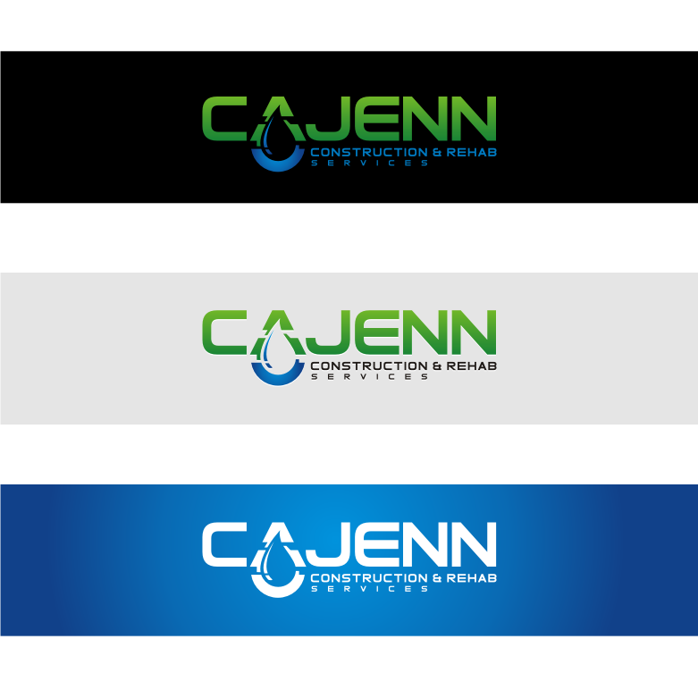 Logo Design by graphicleaf - Entry No. 48 in the Logo Design Contest New Logo Design for CaJenn Construction & Rehab Services.
