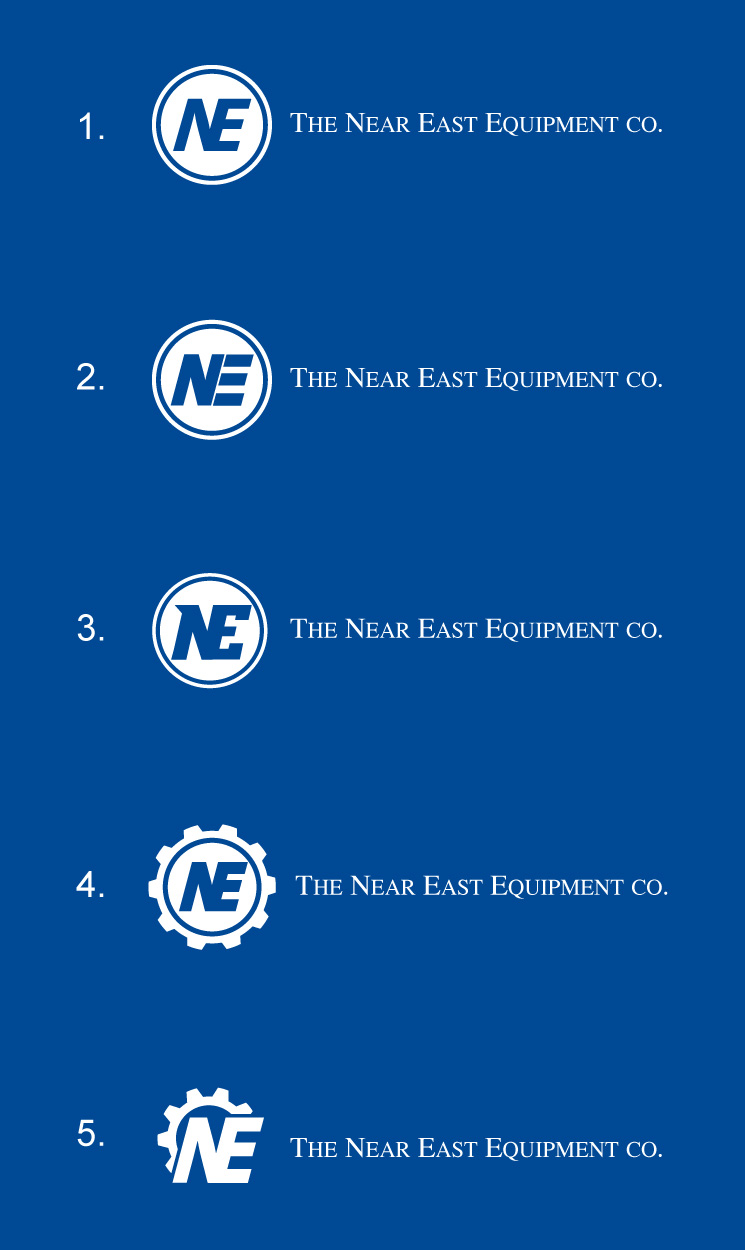 Logo Design by SERO - Entry No. 64 in the Logo Design Contest Imaginative Logo Design for The Near East Equipment Co..