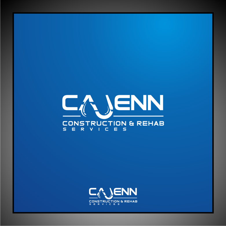 Logo Design by Muhammad Nasrul chasib - Entry No. 49 in the Logo Design Contest New Logo Design for CaJenn Construction & Rehab Services.