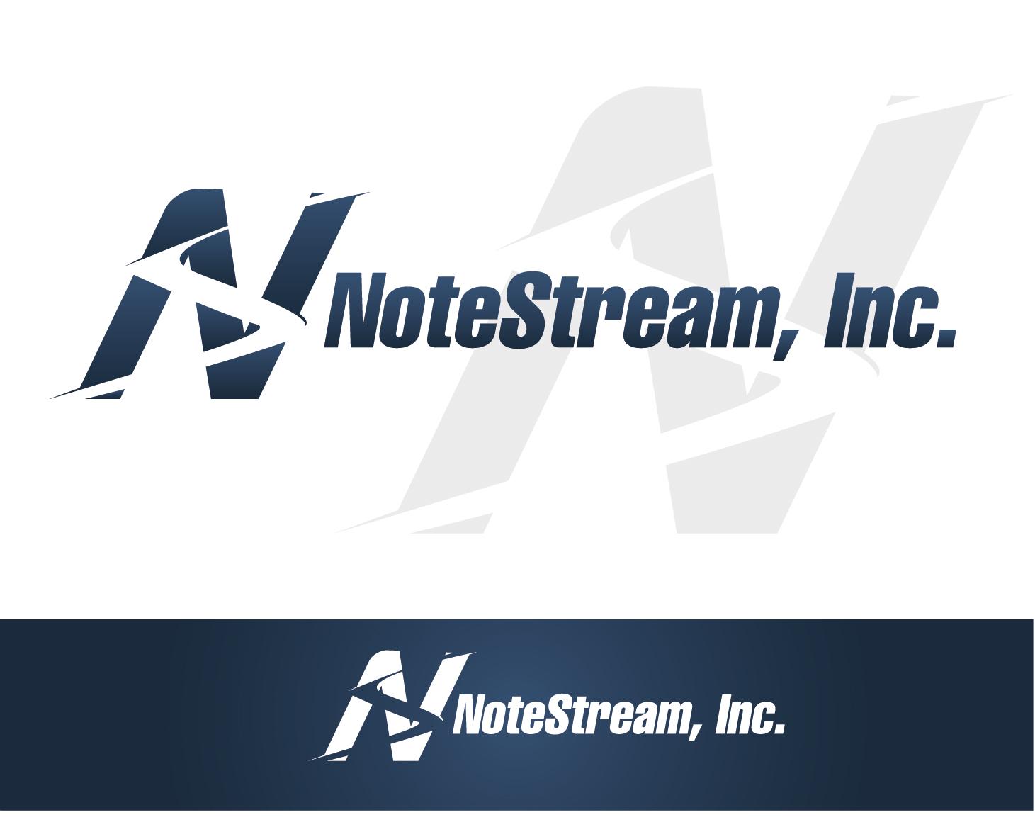 Logo Design by VENTSISLAV KOVACHEV - Entry No. 12 in the Logo Design Contest Imaginative Logo Design for NoteStream.