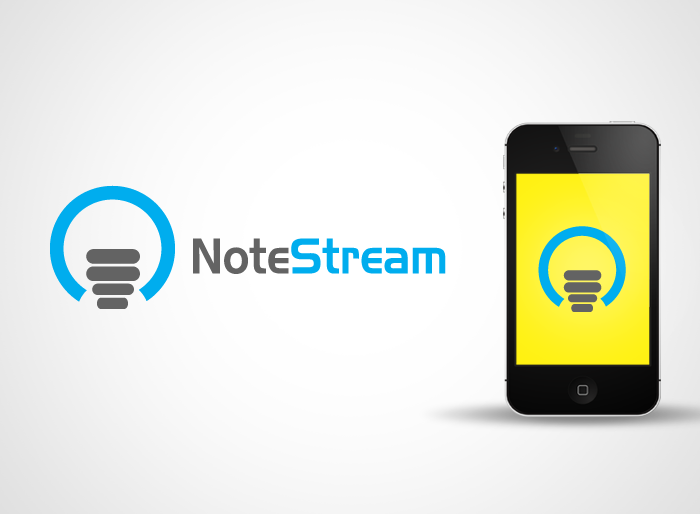 Logo Design by Jan Chua - Entry No. 24 in the Logo Design Contest Imaginative Logo Design for NoteStream.