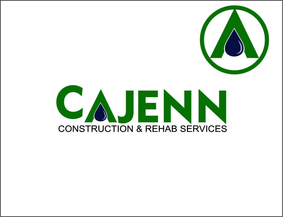 Logo Design by Agus Martoyo - Entry No. 57 in the Logo Design Contest New Logo Design for CaJenn Construction & Rehab Services.