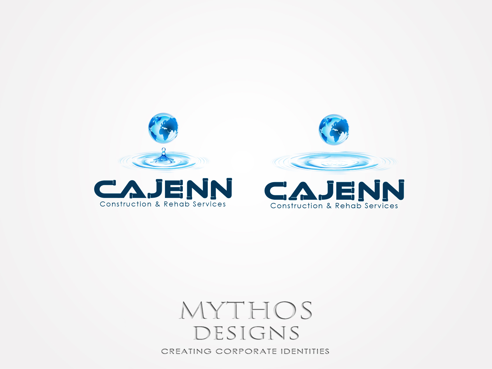 Logo Design by Mythos Designs - Entry No. 60 in the Logo Design Contest New Logo Design for CaJenn Construction & Rehab Services.