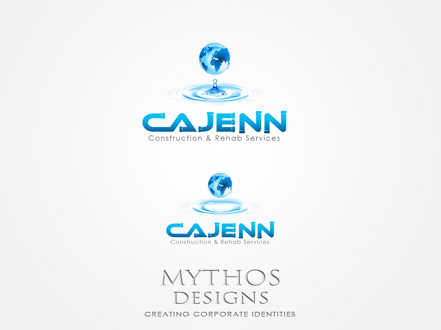 Logo Design by Mythos Designs - Entry No. 61 in the Logo Design Contest New Logo Design for CaJenn Construction & Rehab Services.