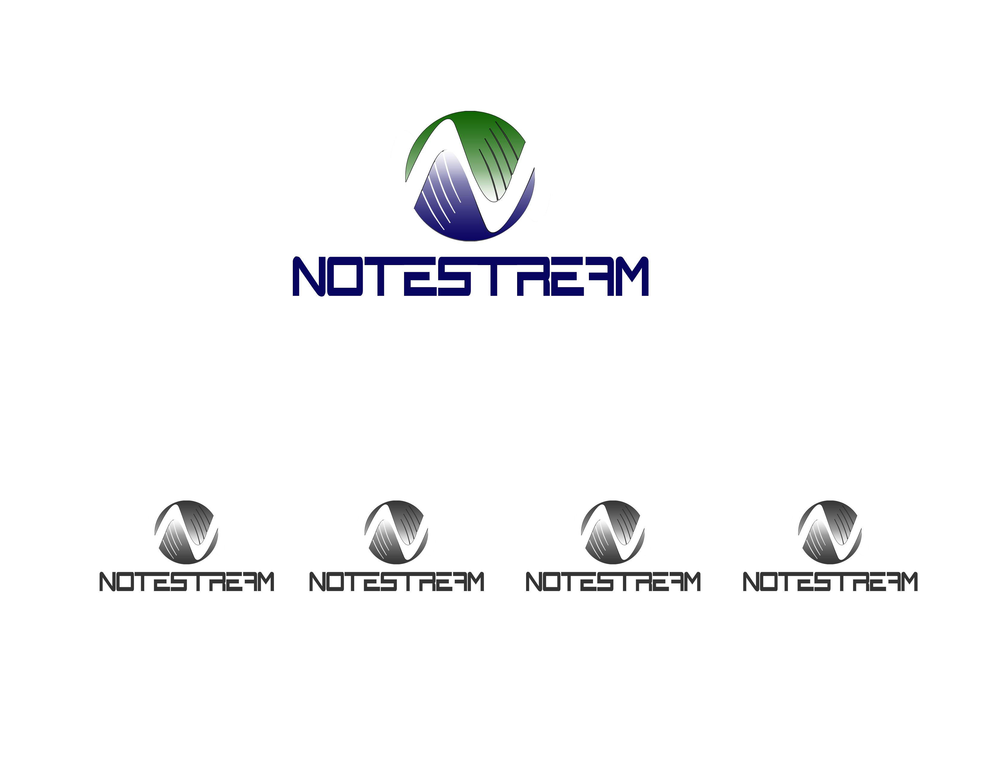 Logo Design by Alan Esclamado - Entry No. 30 in the Logo Design Contest Imaginative Logo Design for NoteStream.