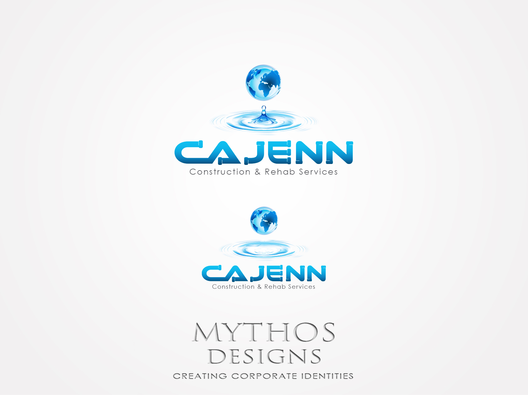 Logo Design by Mythos Designs - Entry No. 62 in the Logo Design Contest New Logo Design for CaJenn Construction & Rehab Services.
