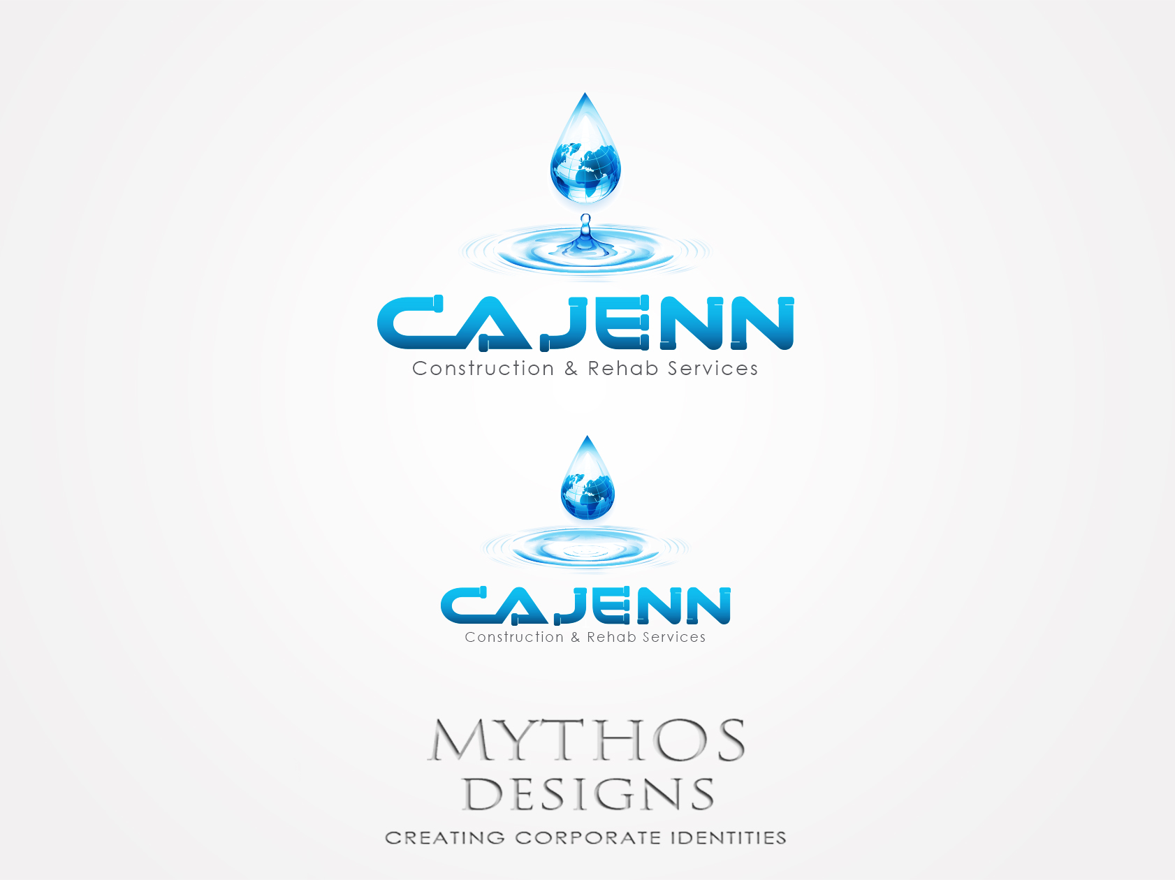 Logo Design by Mythos Designs - Entry No. 63 in the Logo Design Contest New Logo Design for CaJenn Construction & Rehab Services.