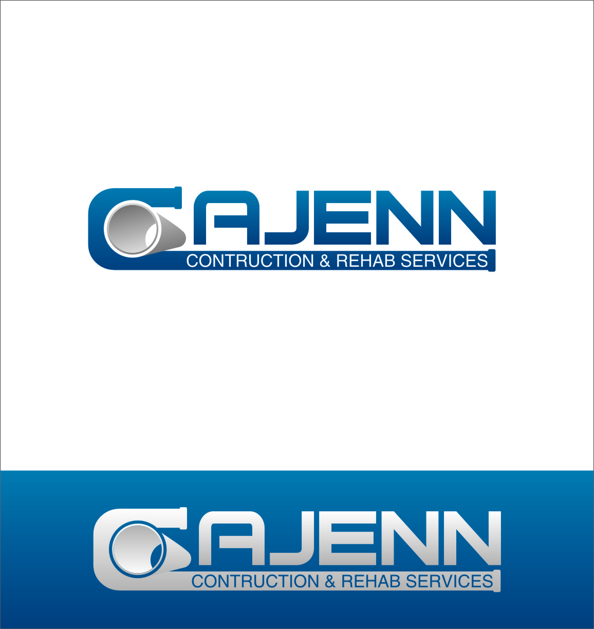 Logo Design by Ngepet_art - Entry No. 70 in the Logo Design Contest New Logo Design for CaJenn Construction & Rehab Services.