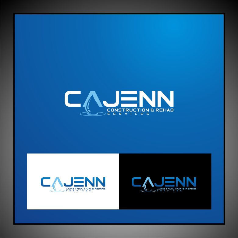 Logo Design by Muhammad Nasrul chasib - Entry No. 75 in the Logo Design Contest New Logo Design for CaJenn Construction & Rehab Services.