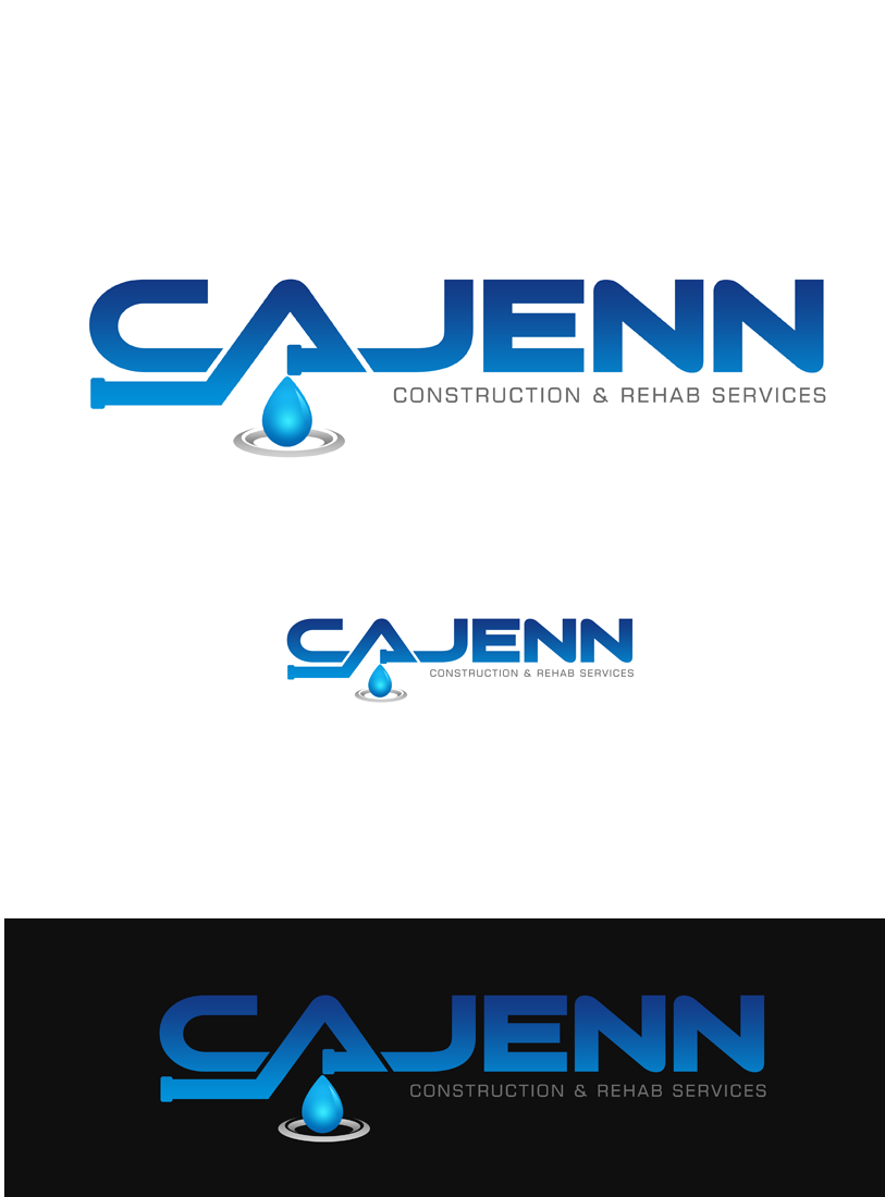 Logo Design by Private User - Entry No. 88 in the Logo Design Contest New Logo Design for CaJenn Construction & Rehab Services.