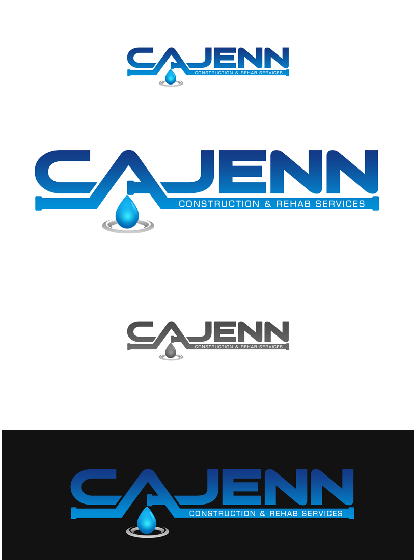 Logo Design by Robert Turla - Entry No. 89 in the Logo Design Contest New Logo Design for CaJenn Construction & Rehab Services.