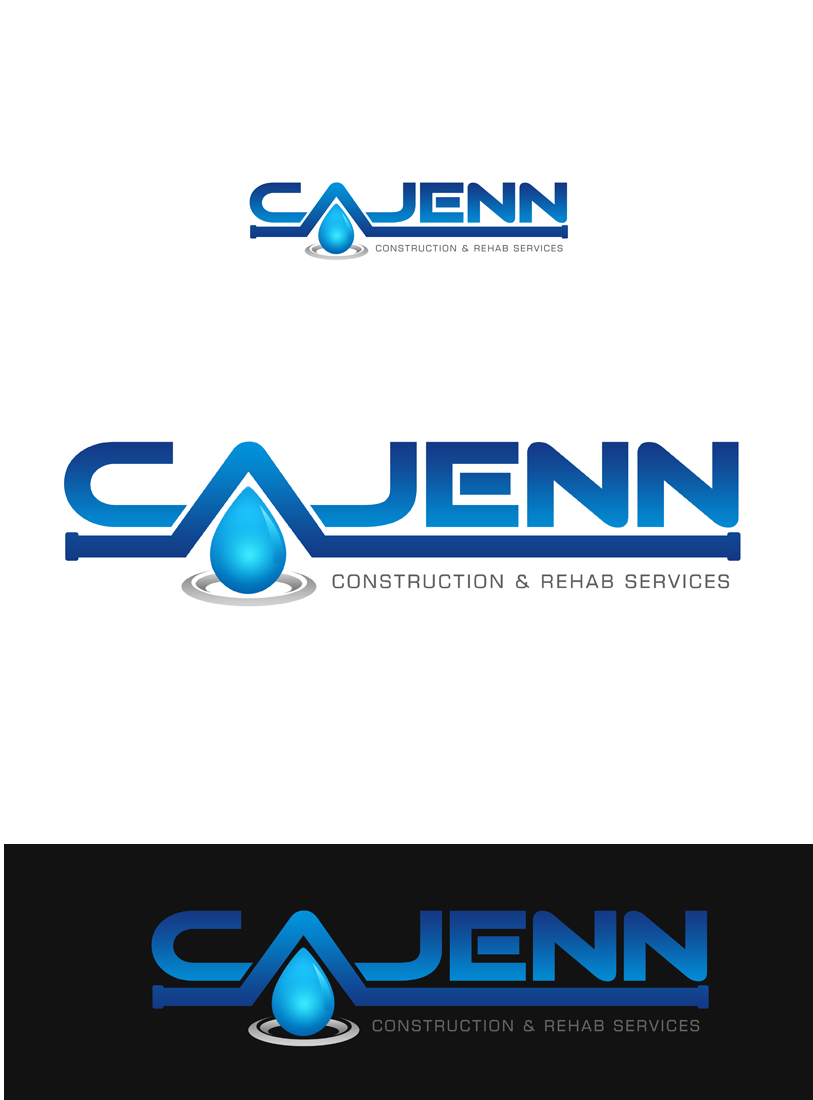 Logo Design by Private User - Entry No. 92 in the Logo Design Contest New Logo Design for CaJenn Construction & Rehab Services.