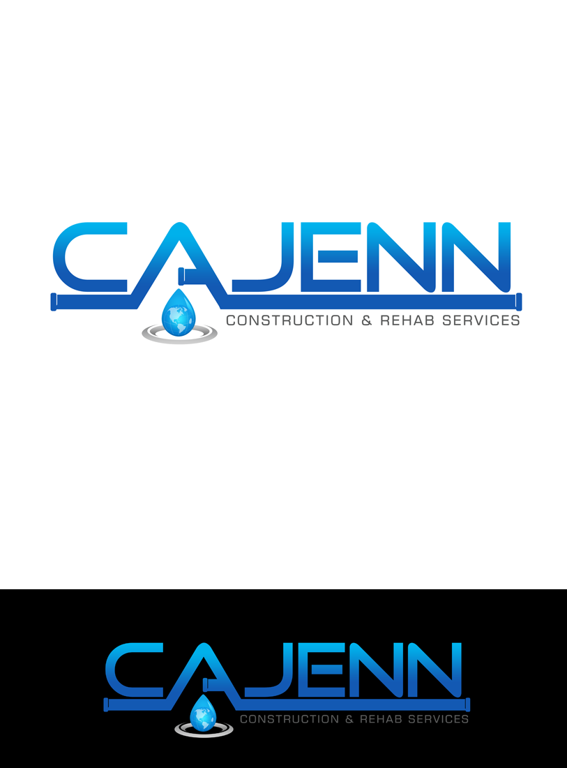Logo Design by Robert Turla - Entry No. 97 in the Logo Design Contest New Logo Design for CaJenn Construction & Rehab Services.