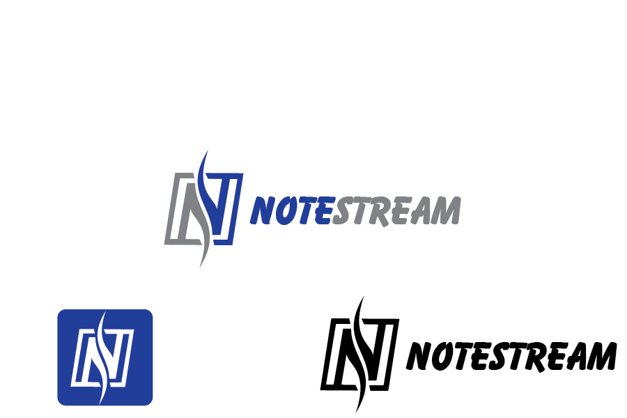 Logo Design by Private User - Entry No. 34 in the Logo Design Contest Imaginative Logo Design for NoteStream.
