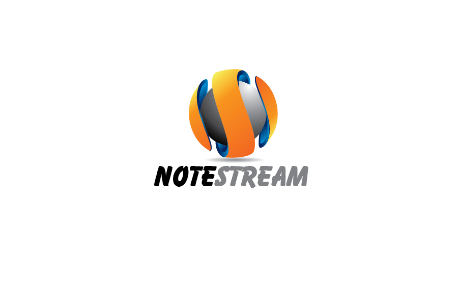 Logo Design by Private User - Entry No. 35 in the Logo Design Contest Imaginative Logo Design for NoteStream.
