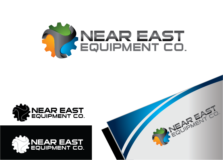 Logo Design by Private User - Entry No. 94 in the Logo Design Contest Imaginative Logo Design for The Near East Equipment Co..