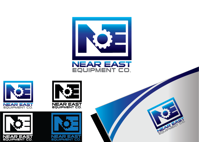 Logo Design by Private User - Entry No. 95 in the Logo Design Contest Imaginative Logo Design for The Near East Equipment Co..