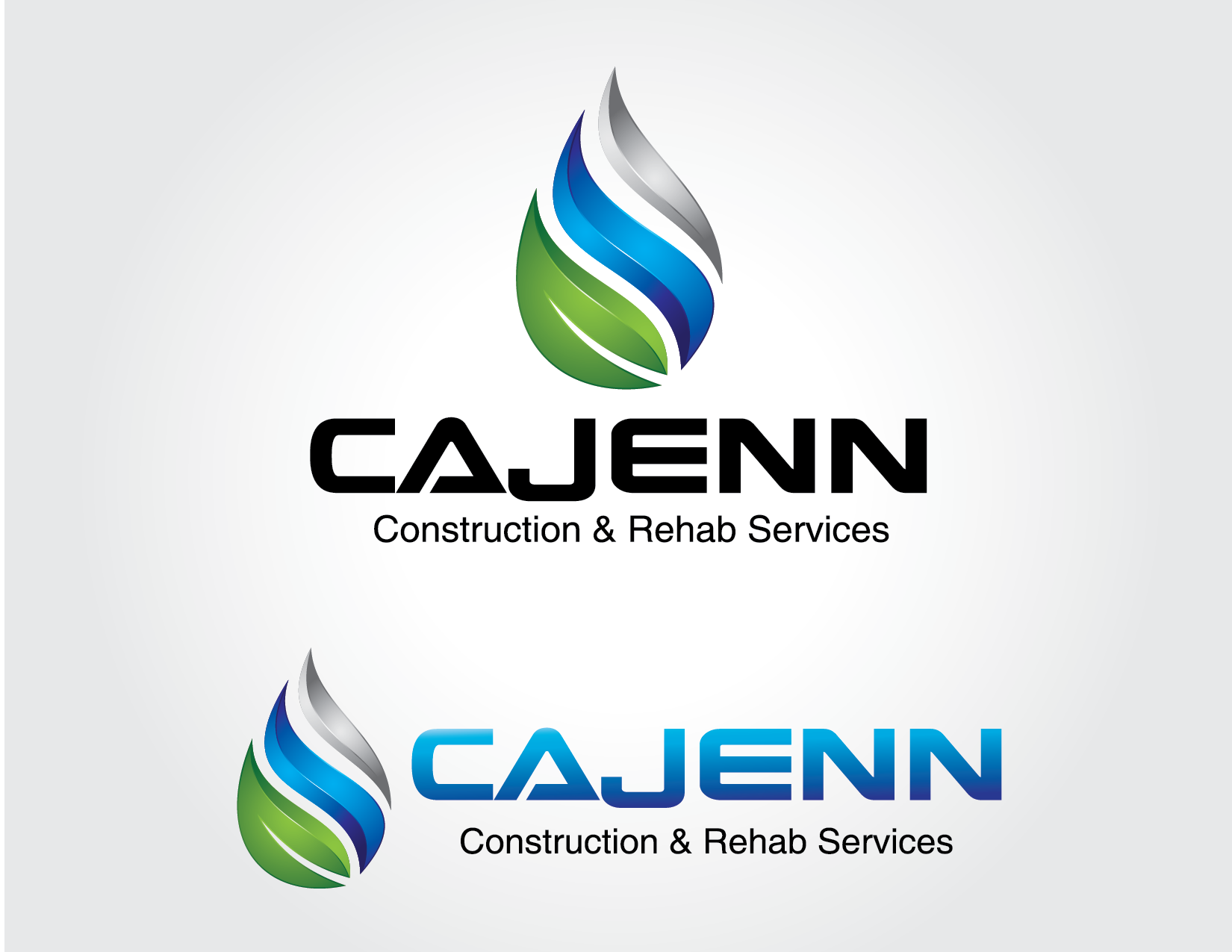 Logo Design by Yansen Yansen - Entry No. 108 in the Logo Design Contest New Logo Design for CaJenn Construction & Rehab Services.