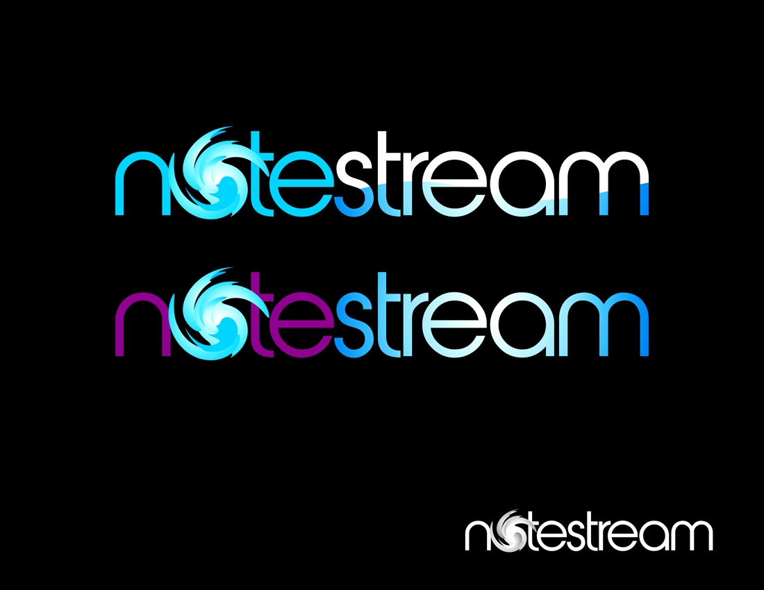 Logo Design by Private User - Entry No. 40 in the Logo Design Contest Imaginative Logo Design for NoteStream.