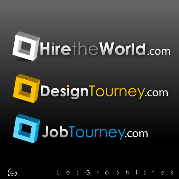Logo Design by Les-Graphistes - Entry No. 298 in the Logo Design Contest Hiretheworld.com.