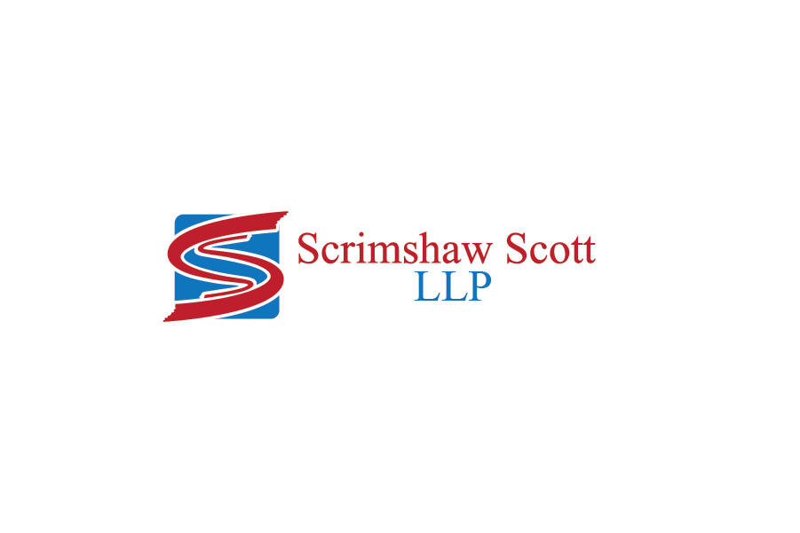 Logo Design by Private User - Entry No. 3 in the Logo Design Contest Striking Logo Design for law firm SCRIMSHAW  SCOTT  LLP.