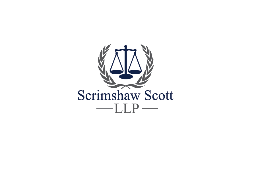 Logo Design by Private User - Entry No. 4 in the Logo Design Contest Striking Logo Design for law firm SCRIMSHAW  SCOTT  LLP.