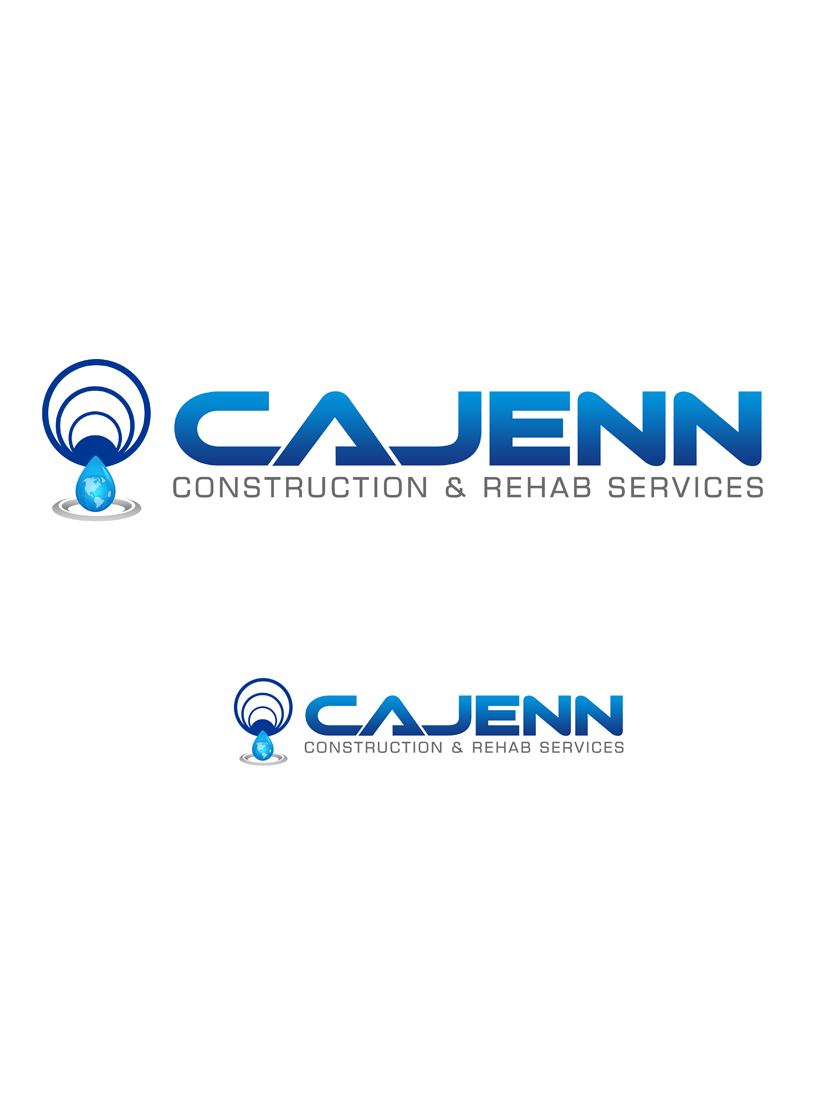 Logo Design by Robert Turla - Entry No. 116 in the Logo Design Contest New Logo Design for CaJenn Construction & Rehab Services.