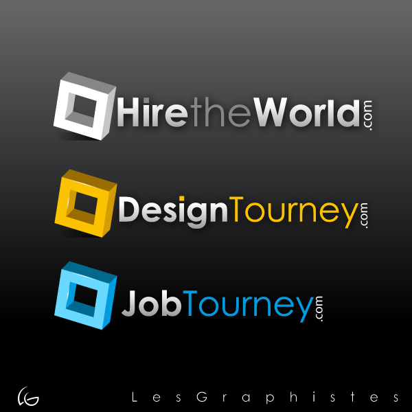 Logo Design by Les-Graphistes - Entry No. 299 in the Logo Design Contest Hiretheworld.com.