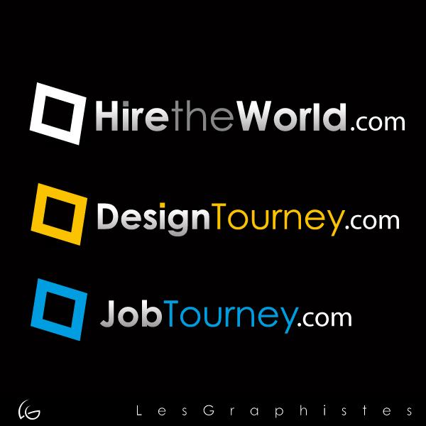 Logo Design by Les-Graphistes - Entry No. 300 in the Logo Design Contest Hiretheworld.com.