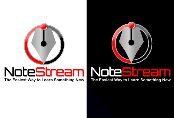 Logo Design by Ismail Adhi Wibowo - Entry No. 43 in the Logo Design Contest Imaginative Logo Design for NoteStream.