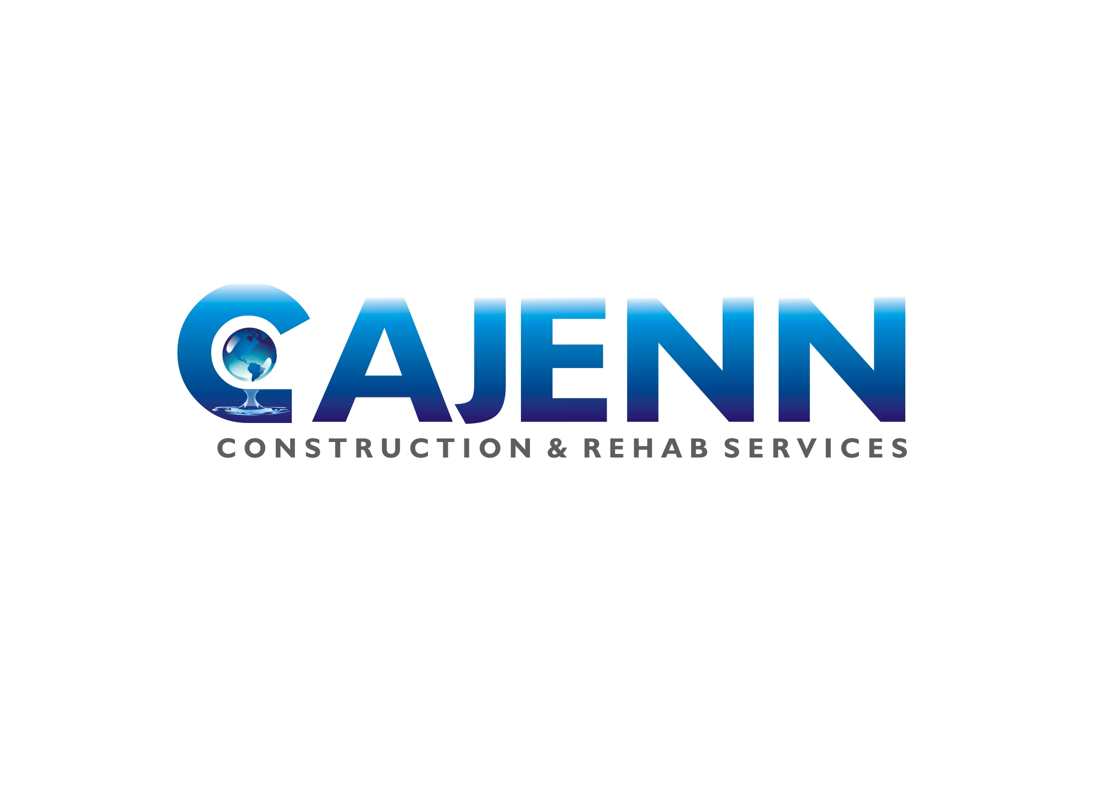 Logo Design by Zdravko Krulj - Entry No. 122 in the Logo Design Contest New Logo Design for CaJenn Construction & Rehab Services.