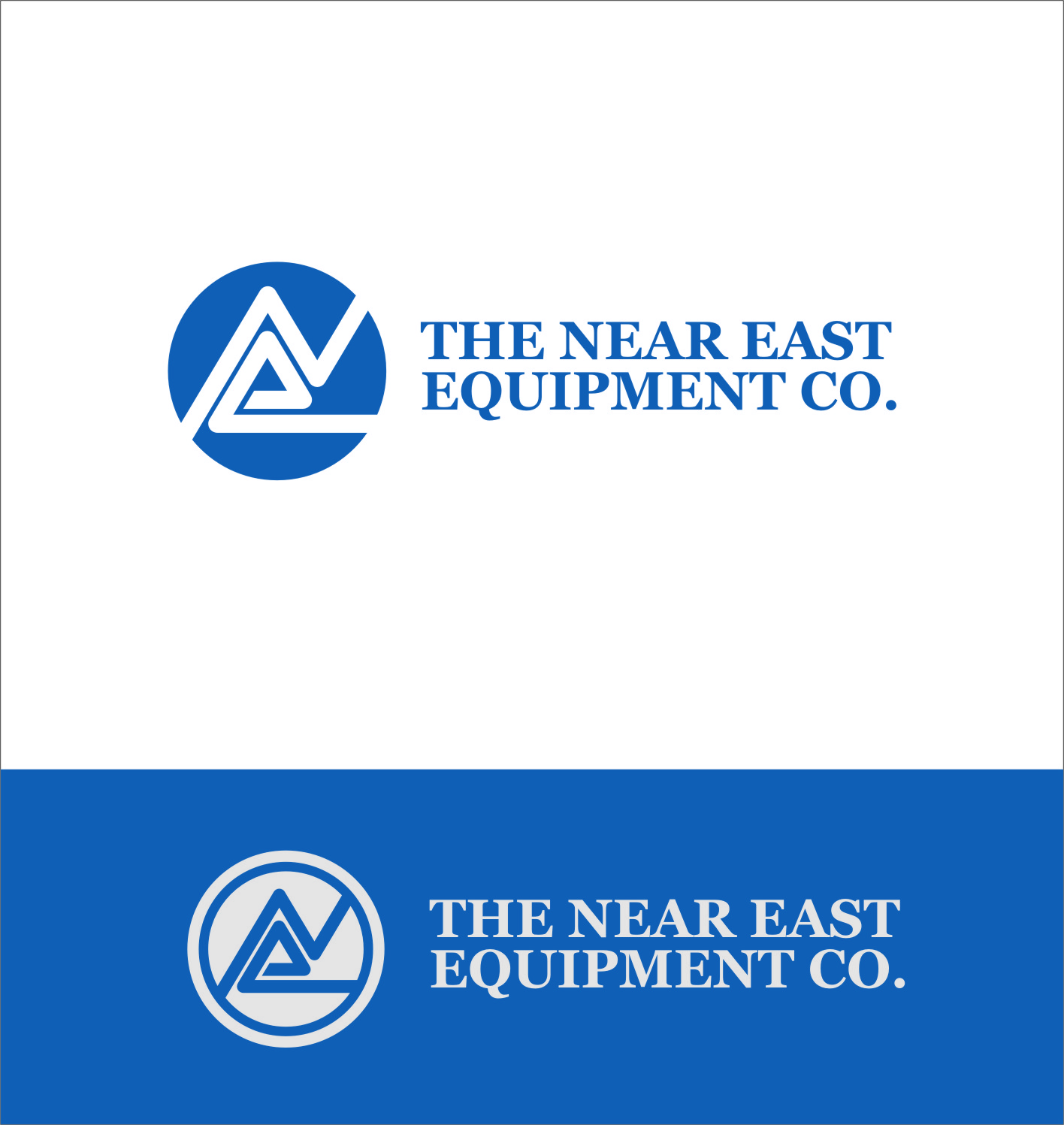Logo Design by RoSyid Rono-Rene On Java - Entry No. 104 in the Logo Design Contest Imaginative Logo Design for The Near East Equipment Co..