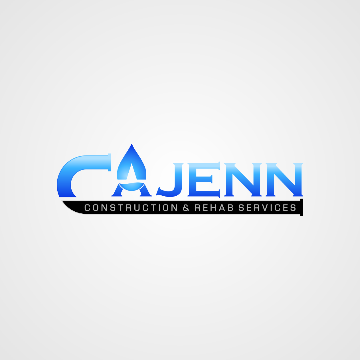 Logo Design by rifatz - Entry No. 135 in the Logo Design Contest New Logo Design for CaJenn Construction & Rehab Services.
