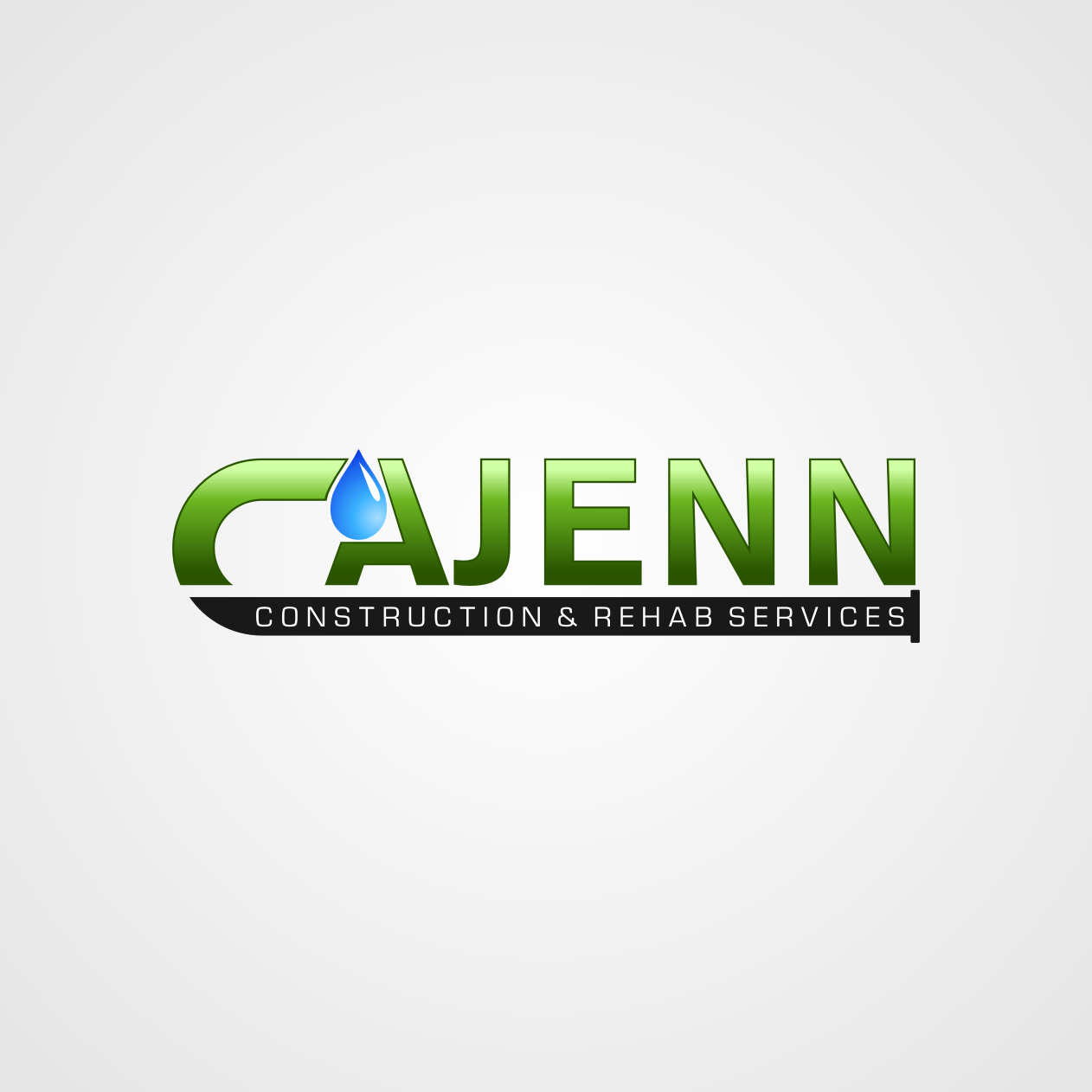 Logo Design by rifatz - Entry No. 136 in the Logo Design Contest New Logo Design for CaJenn Construction & Rehab Services.