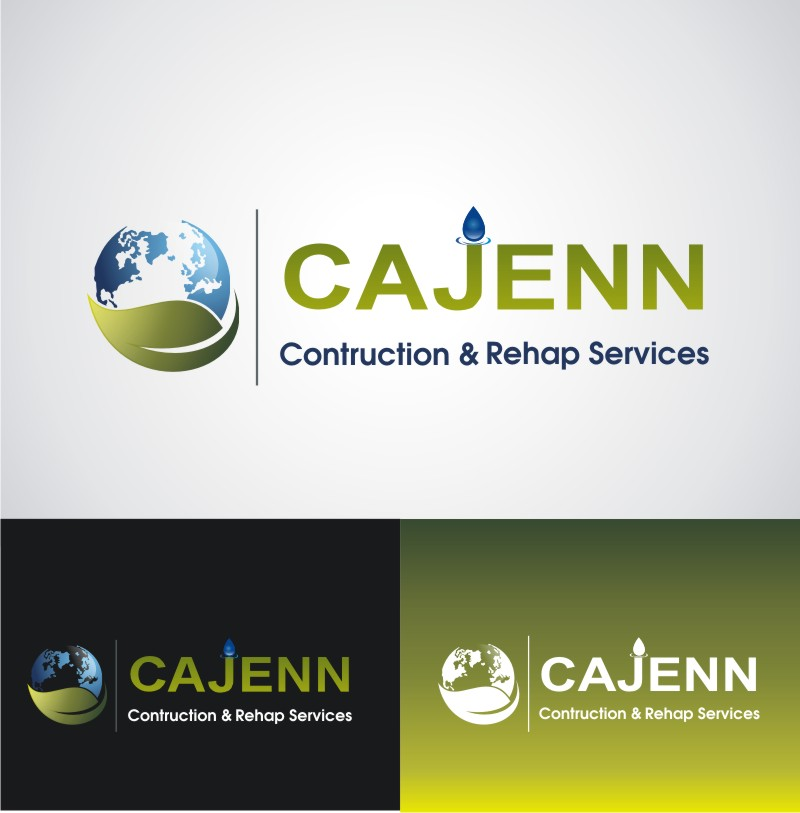 Logo Design by Bangun Prastyo - Entry No. 137 in the Logo Design Contest New Logo Design for CaJenn Construction & Rehab Services.