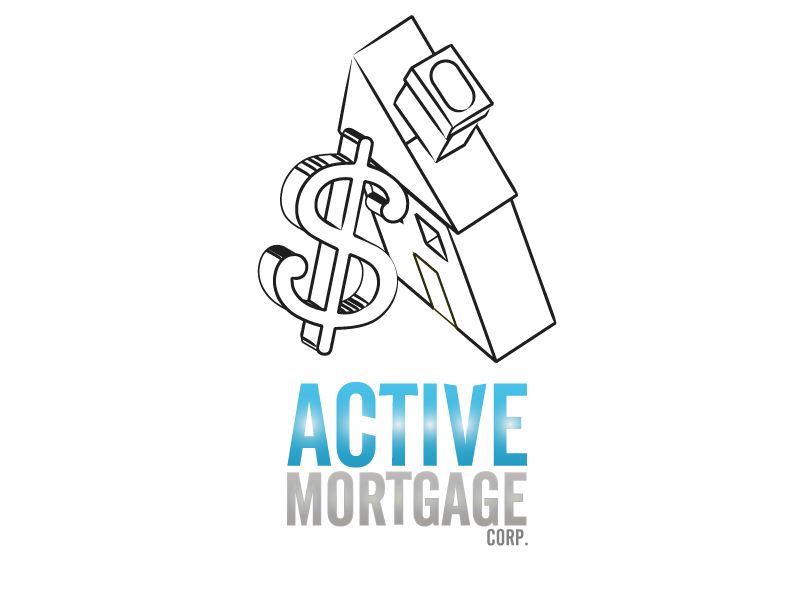 Logo Design by Max-Killah - Entry No. 24 in the Logo Design Contest Active Mortgage Corp..