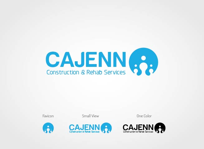 Logo Design by Shahriar Zaman - Entry No. 139 in the Logo Design Contest New Logo Design for CaJenn Construction & Rehab Services.