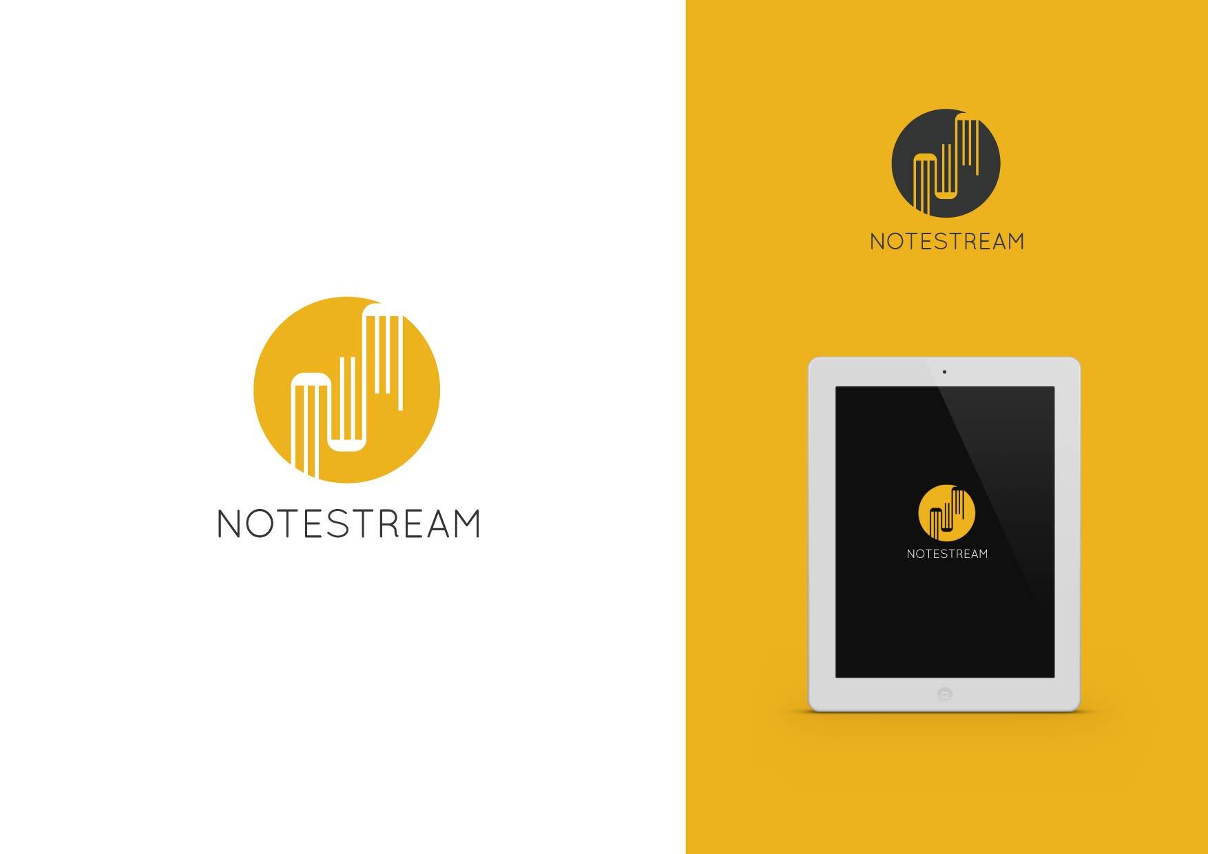 Logo Design by Osi Indra - Entry No. 44 in the Logo Design Contest Imaginative Logo Design for NoteStream.