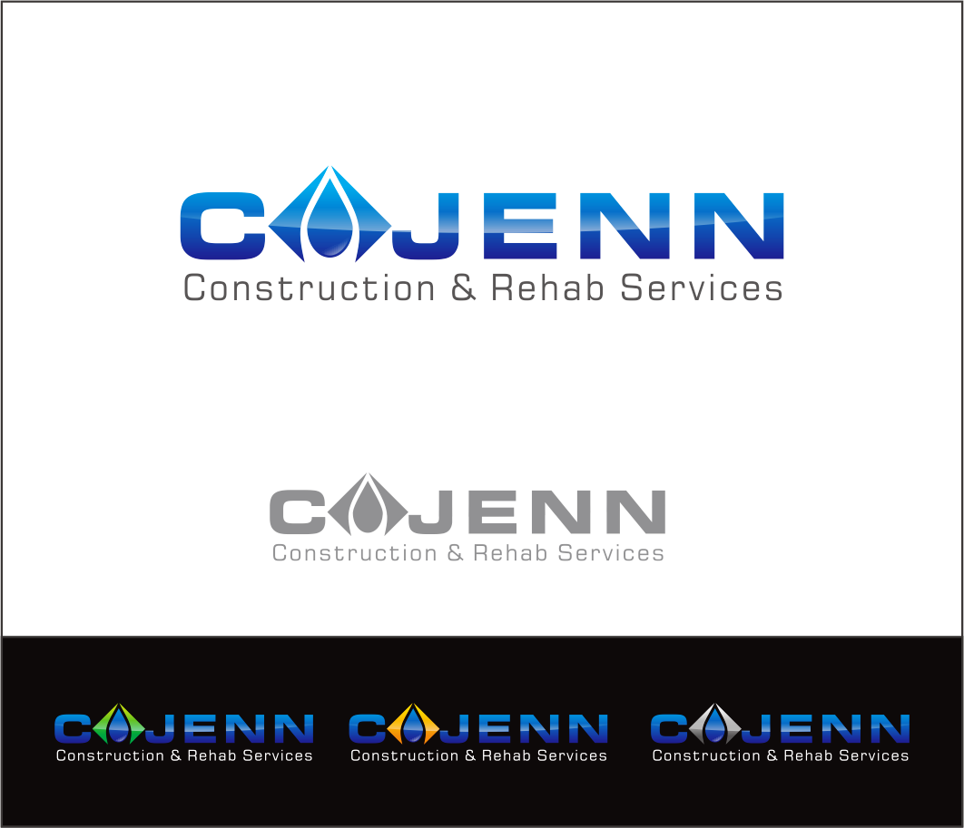 Logo Design by Armada Jamaluddin - Entry No. 145 in the Logo Design Contest New Logo Design for CaJenn Construction & Rehab Services.
