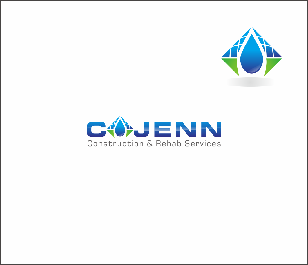 Logo Design by Armada Jamaluddin - Entry No. 146 in the Logo Design Contest New Logo Design for CaJenn Construction & Rehab Services.