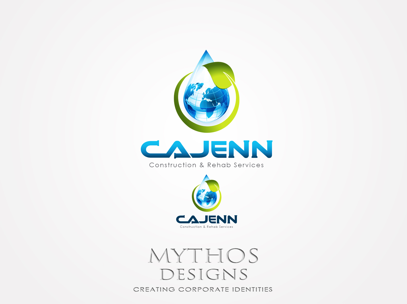 Logo Design by Mythos Designs - Entry No. 149 in the Logo Design Contest New Logo Design for CaJenn Construction & Rehab Services.