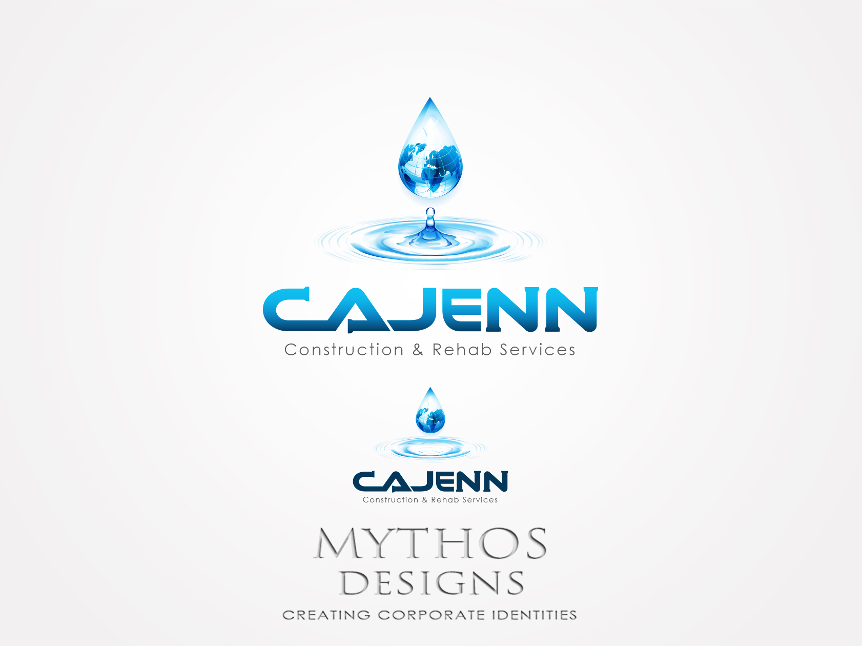 Logo Design by Mythos Designs - Entry No. 150 in the Logo Design Contest New Logo Design for CaJenn Construction & Rehab Services.