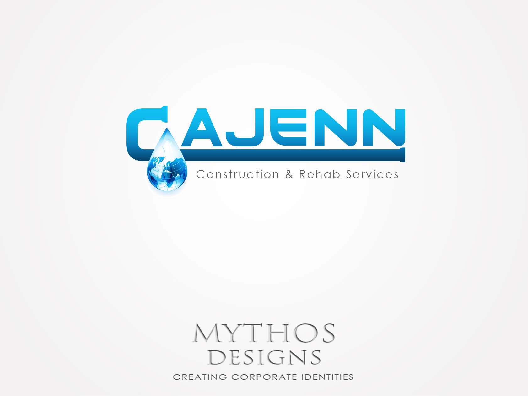 Logo Design by Mythos Designs - Entry No. 152 in the Logo Design Contest New Logo Design for CaJenn Construction & Rehab Services.