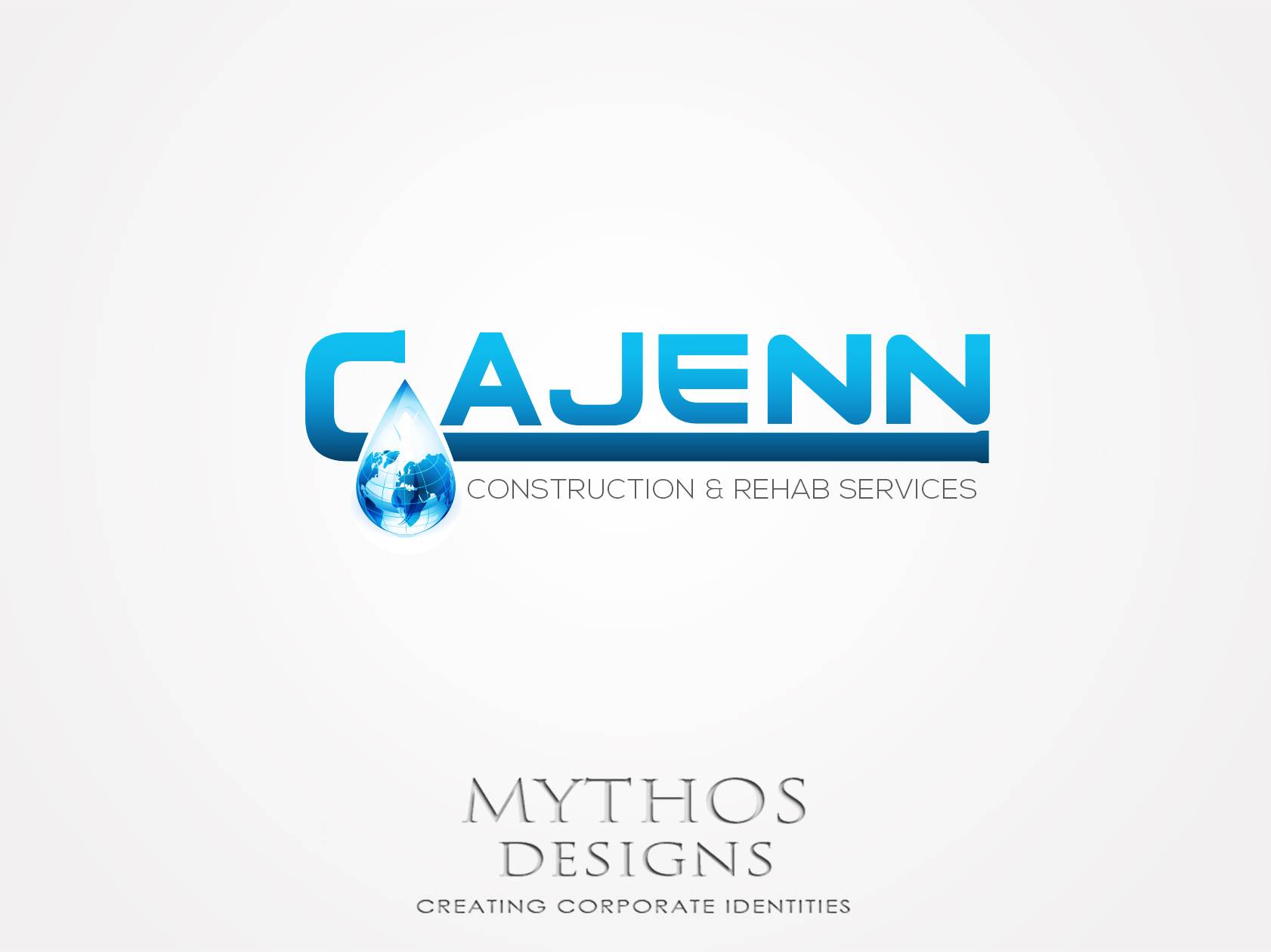 Logo Design by Mythos Designs - Entry No. 154 in the Logo Design Contest New Logo Design for CaJenn Construction & Rehab Services.