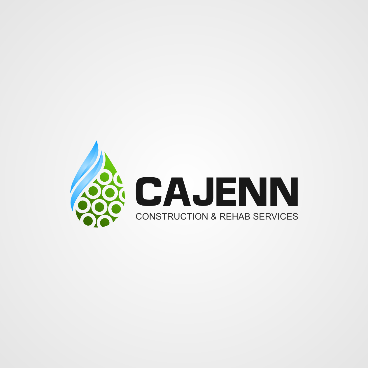 Logo Design by rifatz - Entry No. 155 in the Logo Design Contest New Logo Design for CaJenn Construction & Rehab Services.