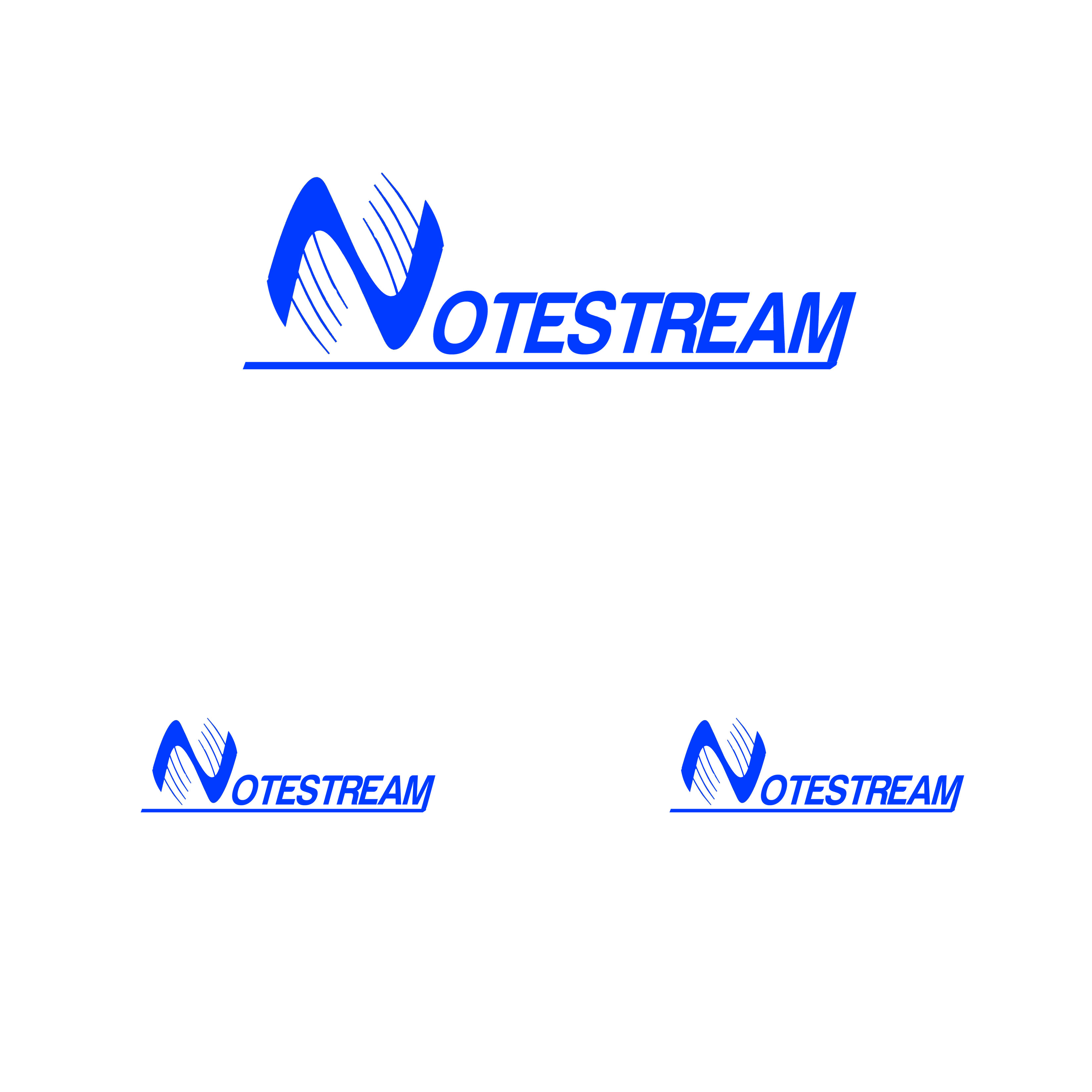 Logo Design by Alan Esclamado - Entry No. 54 in the Logo Design Contest Imaginative Logo Design for NoteStream.