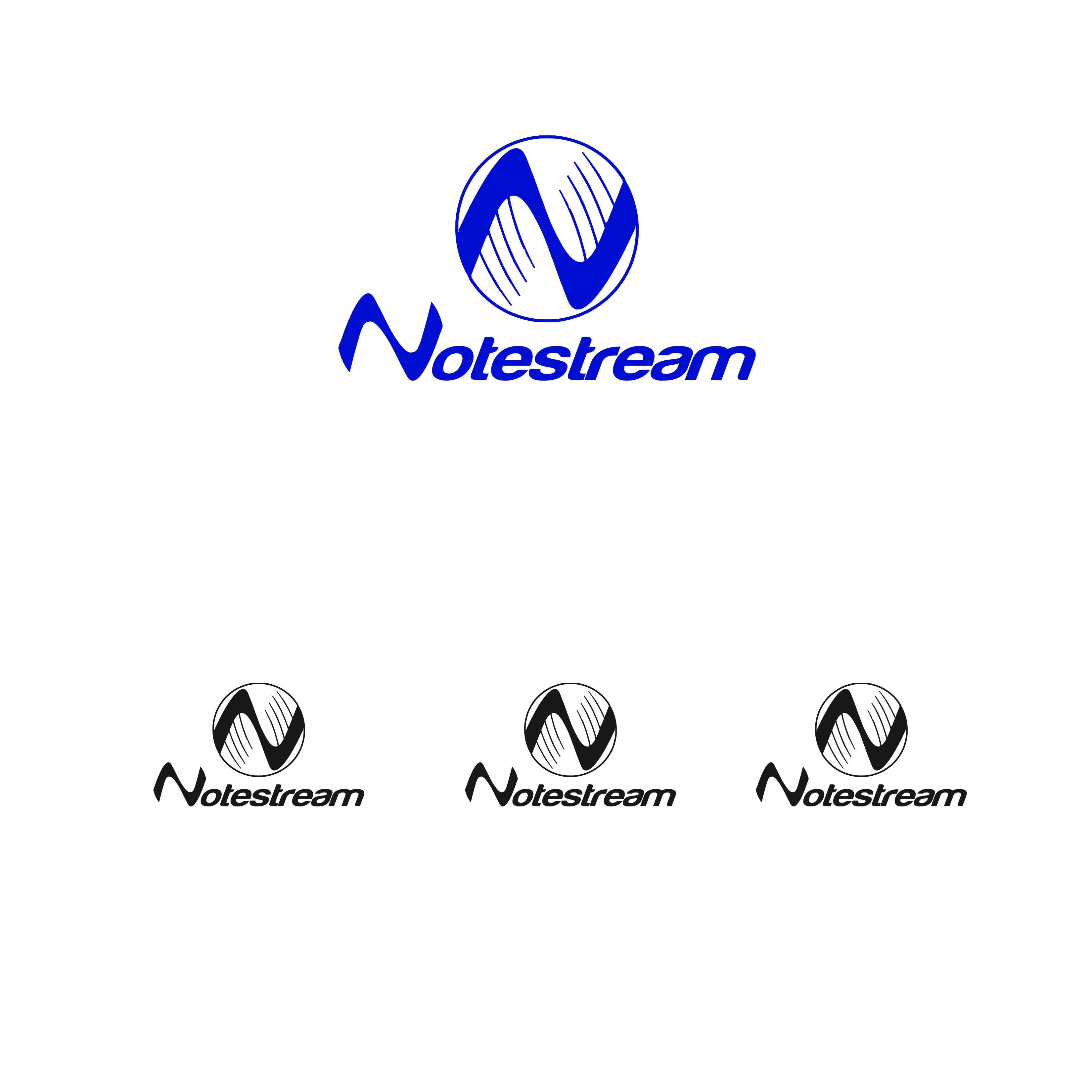 Logo Design by Alan Esclamado - Entry No. 55 in the Logo Design Contest Imaginative Logo Design for NoteStream.