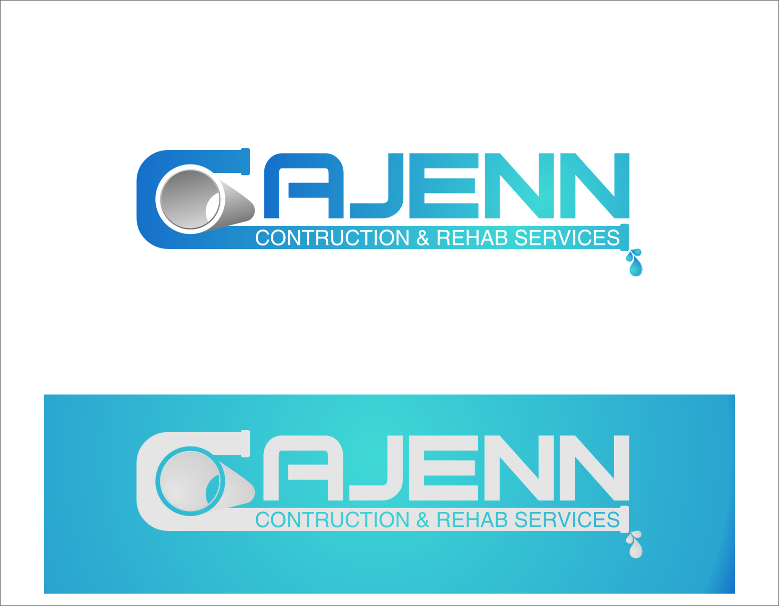 Logo Design by RasYa Muhammad Athaya - Entry No. 164 in the Logo Design Contest New Logo Design for CaJenn Construction & Rehab Services.