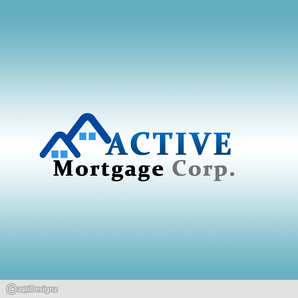 Logo Design by zhierah - Entry No. 32 in the Logo Design Contest Active Mortgage Corp..